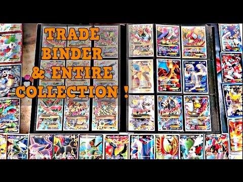 Pokemon Trade Binder & Entire Ultra Rare Collection !!