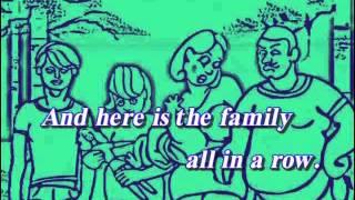 Стихотворение про членов семьи. Английский в стихах и песнях.