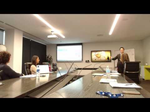 Ben Lai guest speaking at Fairfax Media