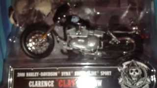 Sons of anarchy die cast bikes