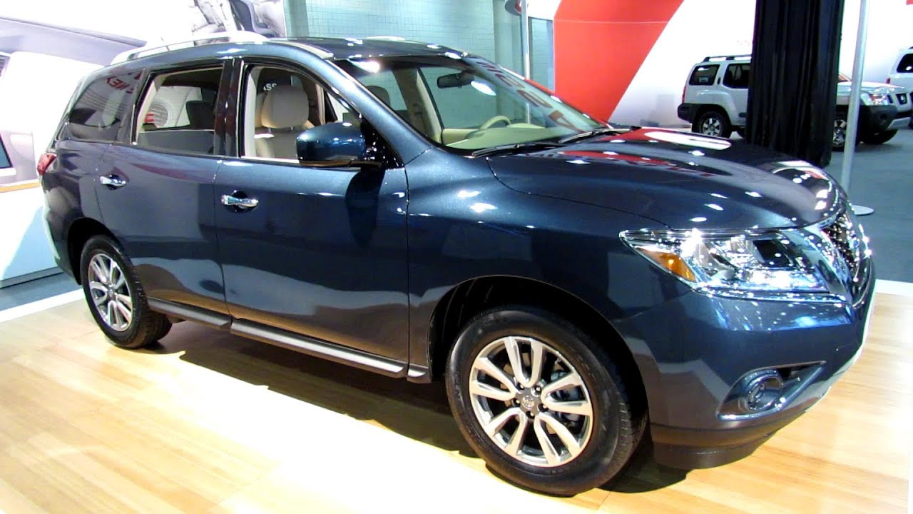 2013 Nissan Pathfinder Sv 4wd Exterior And Interior