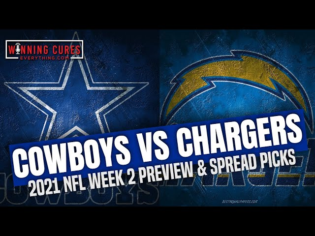 Dallas Cowboys vs Los Angeles Chargers 2021 Week 2 Picks Against the Spread