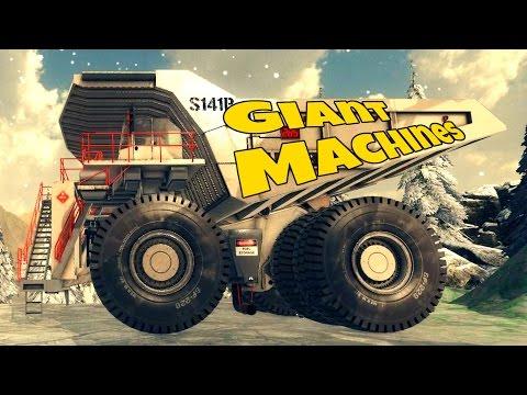 Hauling Uranium Ore! - Let's Play Giant Machines 2017 Gameplay