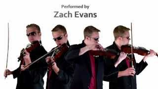 """Need Your Love"" on 5 Violins - Calvin Harris and Ellie Goulding - Performed by Zach Evans"