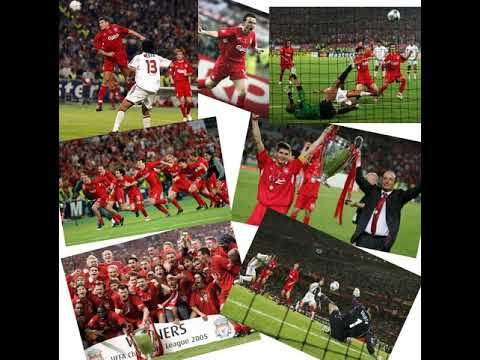 CL Final 2005 - Liverpool 3 v 3 AC Milan (aet, 3-2 on pen) -All The Goals - Radio Broadcast 25/05/05