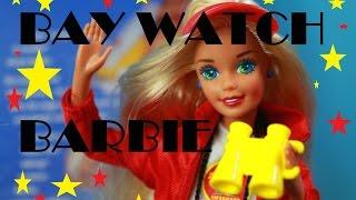 BARBIE DOLPHIN ~ Toby's Grandma Vintage Bay Watch Barbie doll with dolphin friend