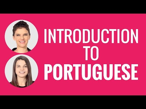 Introduction to Portuguese