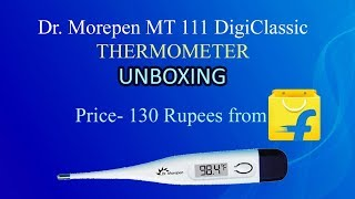[unboxing] Dr. Morepen MT 111 DigiClassic Thermometer