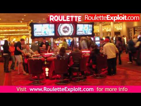 Video Roulette wheel layout numbers