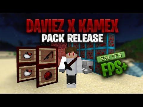 Daviez X Kamex 32x Red & White Resource Pack Release! - FPS+ (UHC, MCSG)