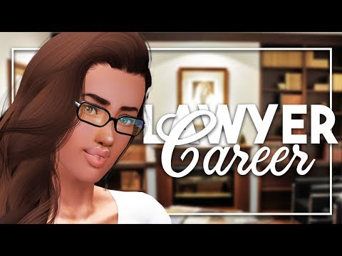 Sims 3 || Mod Review: The Lawyer CAREER! (Career Overview)