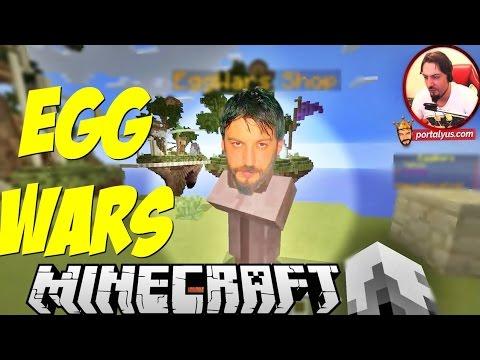 Alayına Atar Gider   Minecraft Türkçe Egg Wars   Bölüm 33