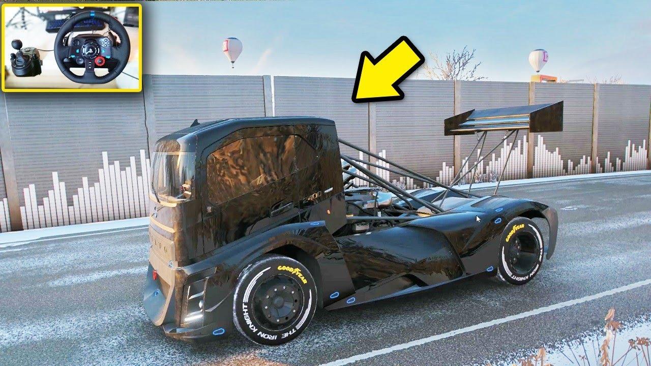 Gambar Modifikasi Truk Volvo Truk Volvo Mengejar Ferrari Youtube