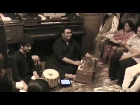 Tauseef Akhtar sings for Ustad Rais Khan, Begum Parween Sultana & Ustad Dilshad Khan