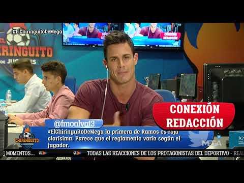 """Edu Aguirre: """"Hay INDIGNACIÓN ABSOLUTA en el Real Madrid por la SEGUNDA AMARILLA a Ramos"""""""