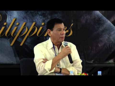 Rodrigo Duterte Q&A - Asia CEO Forum