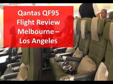 qantas international economy class reviews