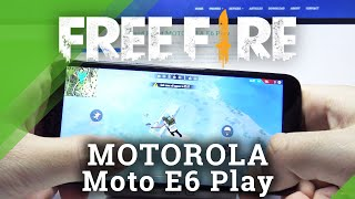 Garena Free Fire Performance Checkup auf Motorola Moto E6 Play - Gameplay