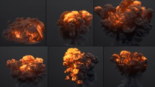 R&D: FumeFX Explosions