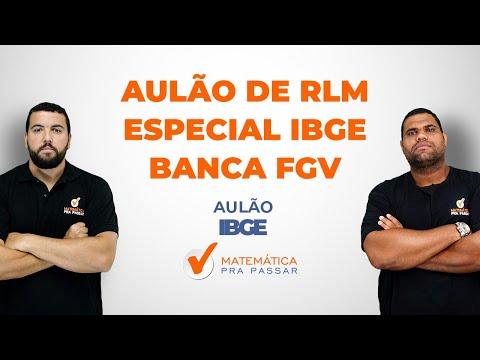Raciocínio Lógico - Especial IBGE - Banca FGV