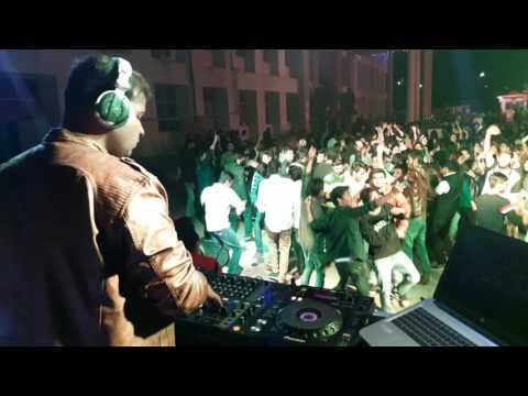 DJ Syrus live @Peoples University, Bhopal