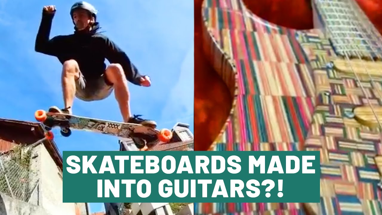 The Upcycle: Skateboards