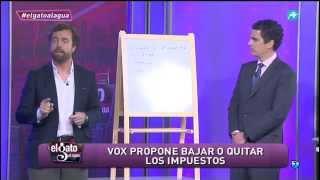 Vox explica cómo reduciría los impuestos para mejorar la economía nacional