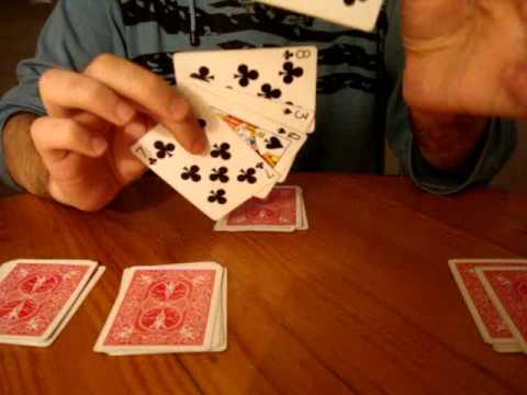 как сделать чтобы картёжная карта летала за руками