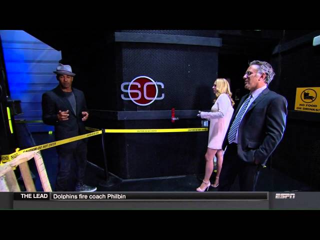 SHEMAR MOORE on ESPN SPORTS CENTER Part 1