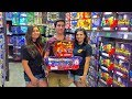 Red Apple Firework Store Shopping for July 4th 2017