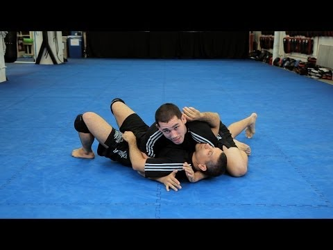 How to Do Triangle Choke from Side Control   MMA Submissions