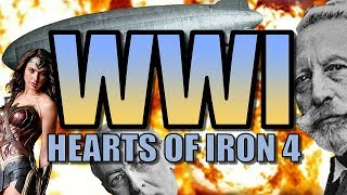 HOI4: WORLD WAR ONE! | Heart of Iron 4: The Great War Mod Gameplay [WW1 AI Only Alternative History]