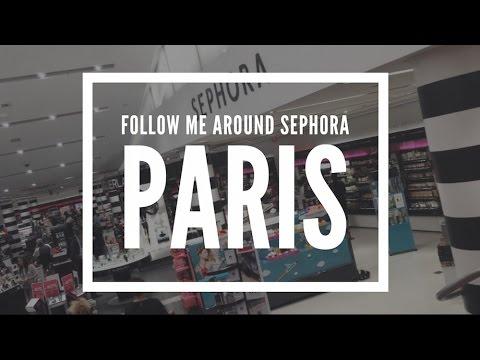 VLOG! Follow me around Sephora Paris!!