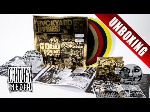 BACKYARD BABIES - Sliver And Gold (Unboxing)