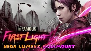inFamous First Light (PS4) All Neon Lumens - Paramount