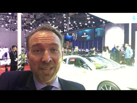 Auto Shanghai 2017 - Connected Car/Concept Car ETOS