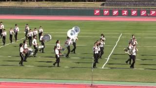 メリディアン・マーチングフェスタ2015 第3部 マーチング 4 塩屋中学校吹奏楽部
