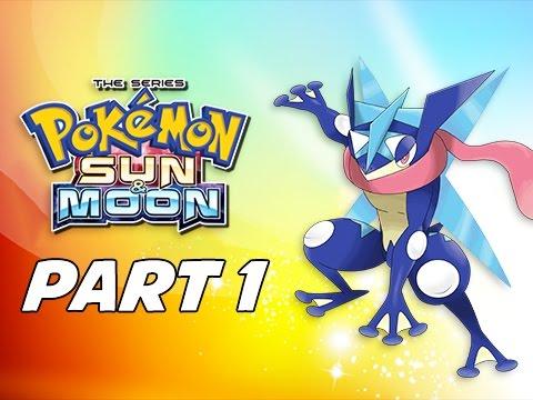 Pokémon Sun & Moon Walkthrough Part 1 - Ash-Greninja! (3DS Demo Let's Play Commentary)