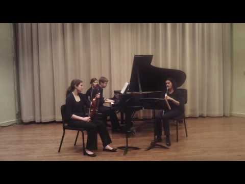 """2012: Bruch """"8 Pieces For Clarinet, Viola And Piano, Op.83- Movement 6 'Nachtgesang'"""""""