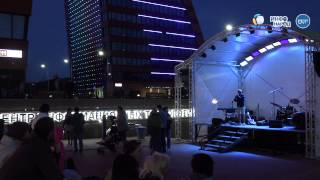 Квартет имени Курёхина, фри-джаз на сцене технопарка