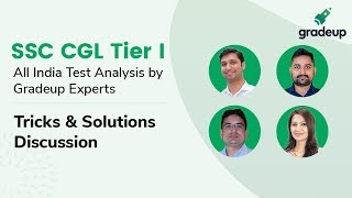 SSC CGL Tier I All India Mock (27th Feb-28th Feb):Live video analysis