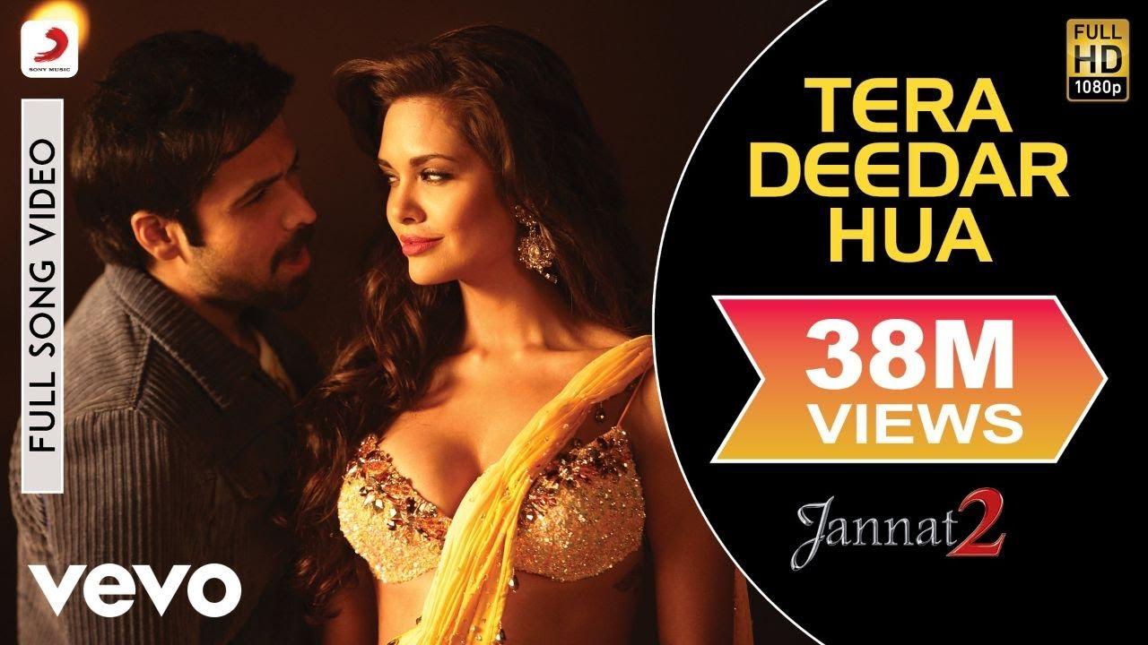 Download Tera Deedar Hua Full Video - Jannat 2 Emraan Hashmi, Esha Rahat Fateh Ali Khan Pritam