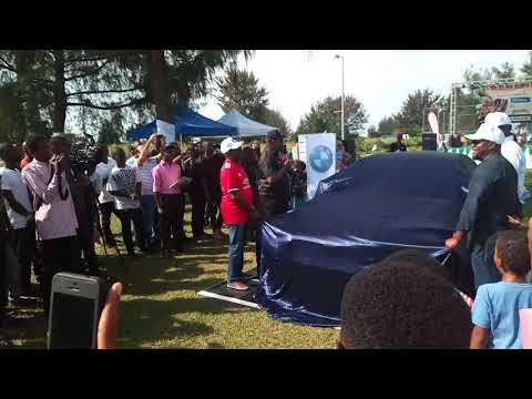 Coscharis Nigeria unveiling the BMW 2017 series at Banana Island Cultural Festival