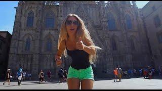 Испания, гуляем по Барселоне, рынок Бокерия