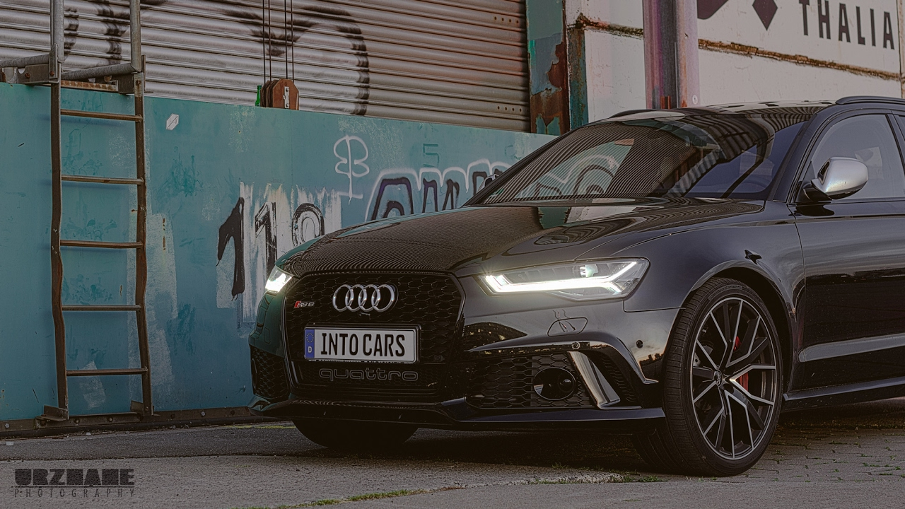Audi Rs6 Performance Car Porn Attempt Jazzy Into Cars Youtube