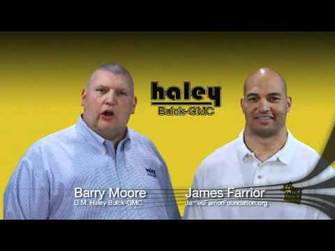 Haley Buick GMC | James Farrior Foundation - Tackling Sickle Cell Anemia