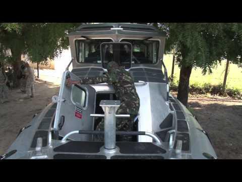 TPDF Defender Boat