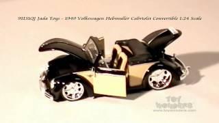 91131qj jada toys 1949 volkswagen hebmuller cabriolet convertible 124 scale diecast wholesale