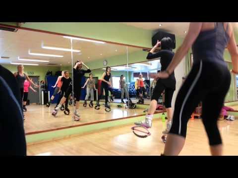 Kangoo Jumps med Anett Petrás i Stockholm! Fitness World Segeltorp!