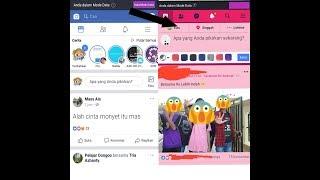 Gambar cover Cara Membuat Tema FB Warna Pink
